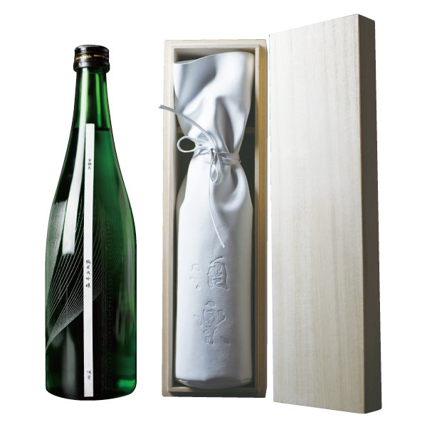 Photo1: 【Junmai Daiginjo Premium】No.205_KINGINKA(720ml)_48 bottles & 48 boxes SET(Air-service)